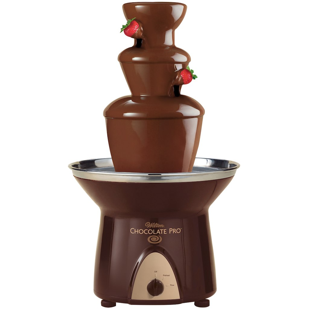 wilton chocolate fountain instructions