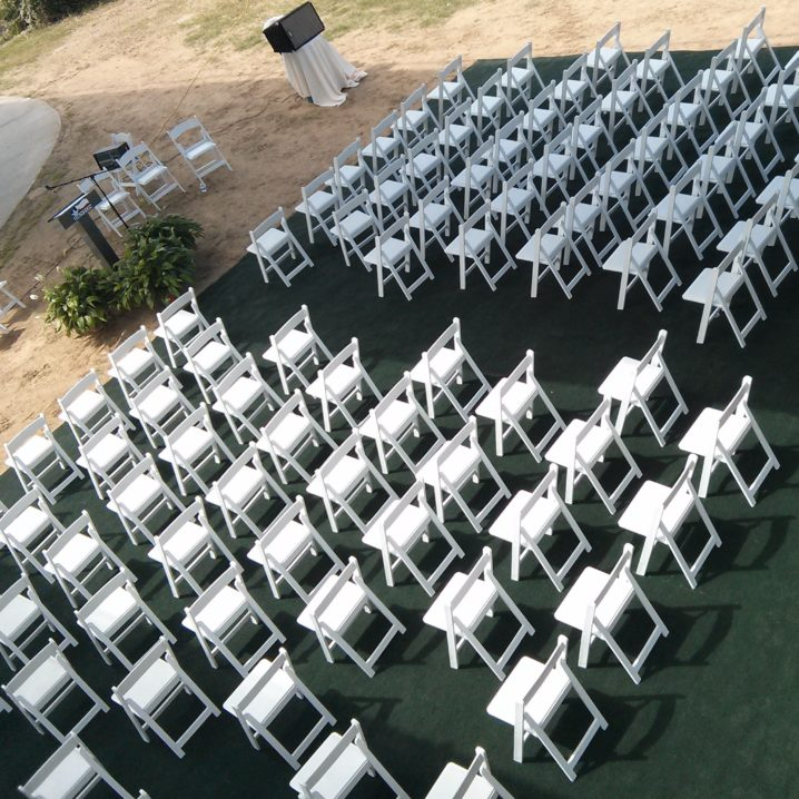 chairs on carpet