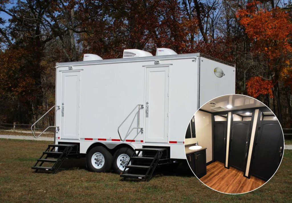 Luxury Restroom Trailer Party And Wedding Rentals For