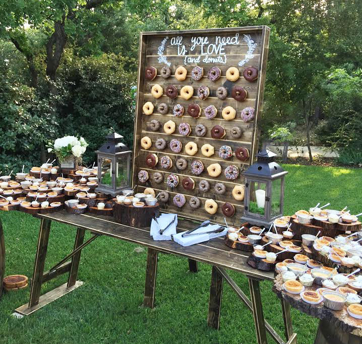Donut Wall Party And Wedding Rentals For Denton And